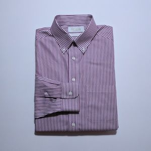 Roundtree & Yorke Men's Dress Shirt Medium